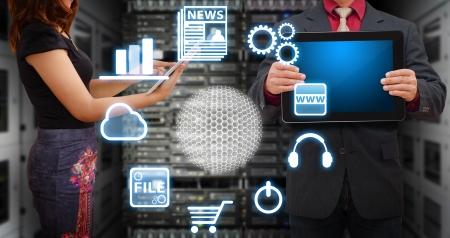 e systems: Programmer in data center room