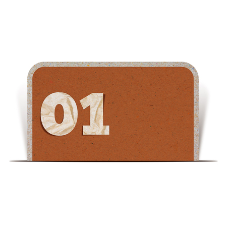 number zero: Paper number zero one