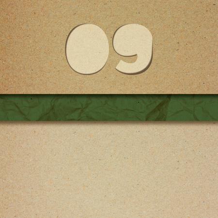 number nine: paper number nine
