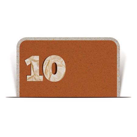 number ten: Paper number ten