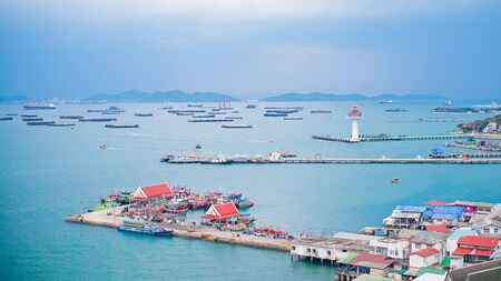 Harbor view SriChang Thailland