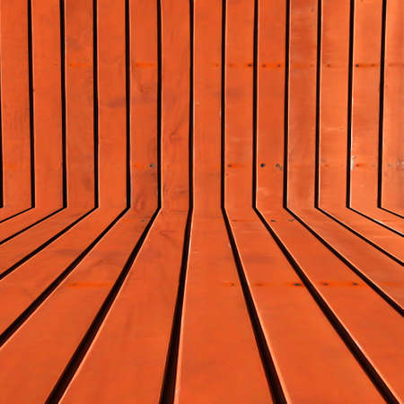 Orange rusted steel room wall background, texture  photo