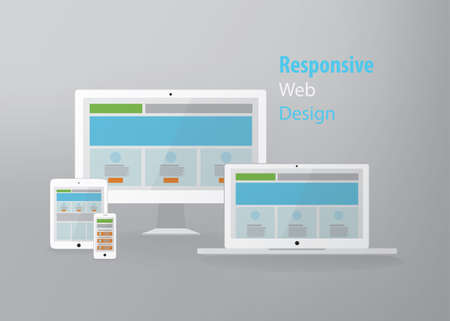 responsive web design: Responsive web design in electronic devices
