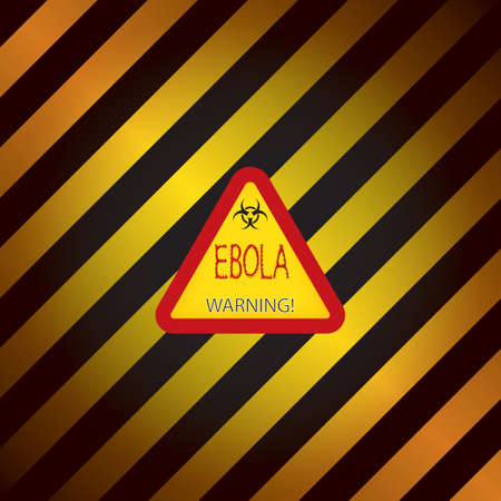 ebola: Ebola warning sign