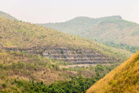 kanchanaburi: Mountain landscape, Kanchanaburi, Thailand