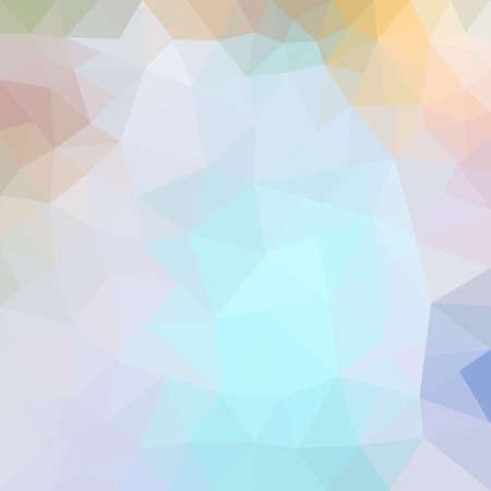Bright abstract mosaic modern textured triangular geometric pattern background.