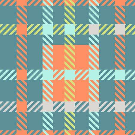 Seamless tartan vector pattern.striped plaid pattern
