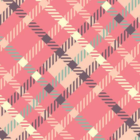 Seamless tartan vector pattern. striped plaid pattern