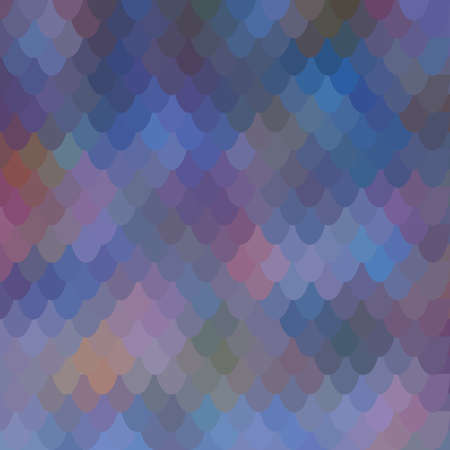 Purple fish scale vector seamless background with natural abstract pattern. Vettoriali