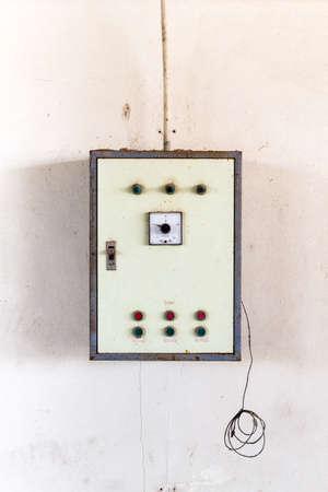 control box: Old control box