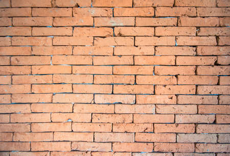 red brick wall texture for background