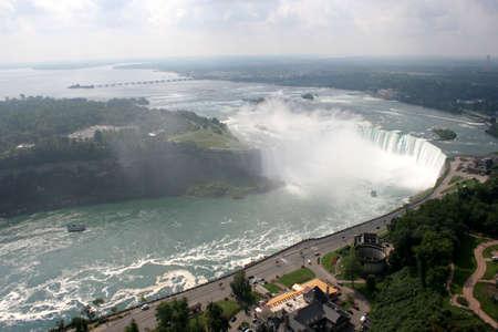 horseshoe falls: Horseshoe Falls, Niagara Falls, Canada Stock Photo