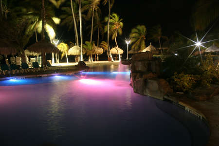 Tropical lights, Aruba, Caribbean