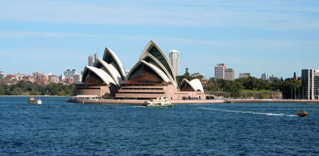 Sydney Harbour Skyline, Australia Stock Photo