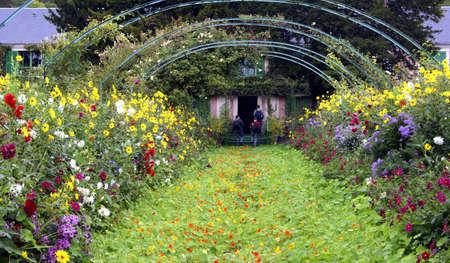 monet: La casa de Claude Monet en Giverny, Francia