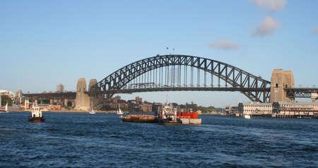 Sydney Harbour Bridge Barge, Australia