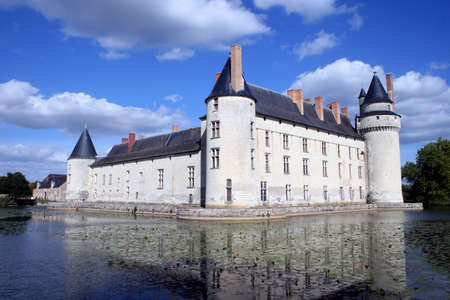 French Chateau, Europe Stock Photo