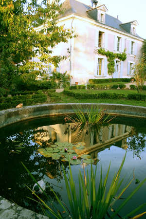 Bed and Breakfast Hotel, France Stock Photo