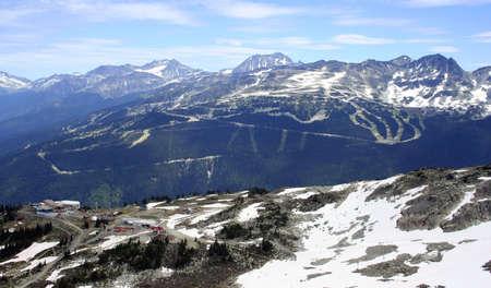 ski runs: Ski Runs, Whistler, Canada