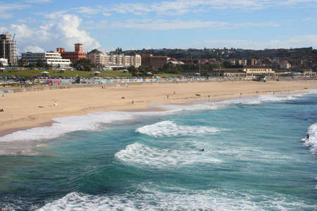Bondi Beach, Sydney Australia Stock Photo
