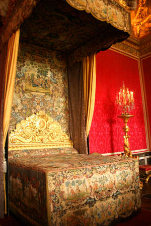 Bedroom of Queen Marie Antoinette, Versailles, France