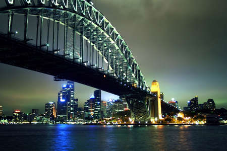 Sydney Harbour Bridge, Australia Stock Photo