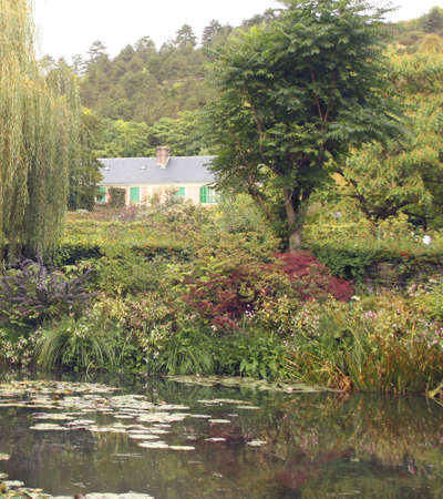 Claude Monets home in Giverny, France, Europe
