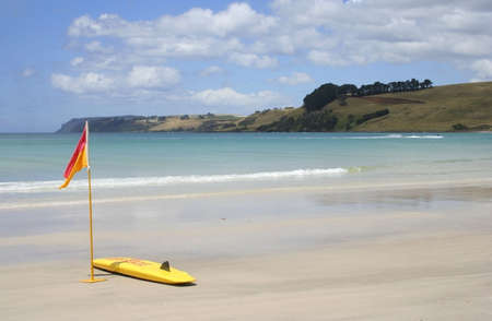 Beautiful Beach on North Coast of Tasmania, Australia photo