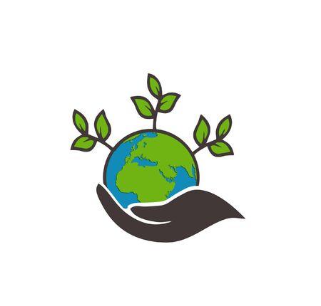 international Earth Day Vector design