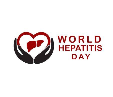 world hepatitis day vector design