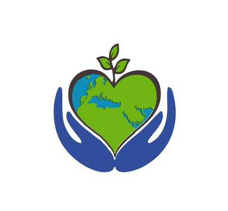 international Earth Day Vector design