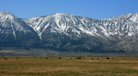 The Sierra Mountains Stock Photo - 7044646