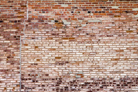 textured wall: Grungy old brick wall background texture