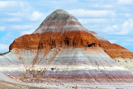 Painted Desert Bizarre Landscape Mountain Stock Photo - 13564812