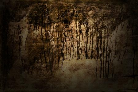 Dark grunge texture background with lighting effect