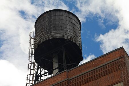 Vintage New York City Water Tower Stock Photo - 16787074