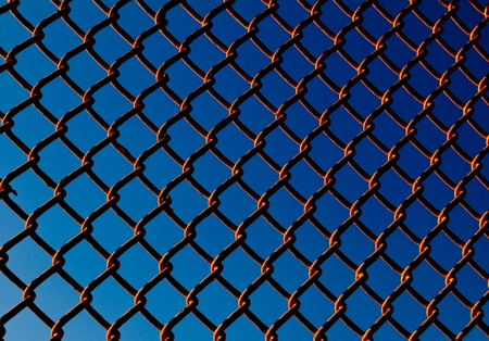 Chain Link Fence Background Texture Pattern Stock Photo - 17226625