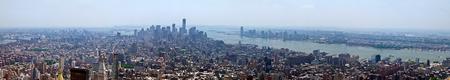 New York City - panoramic skyline of Manhattan photo