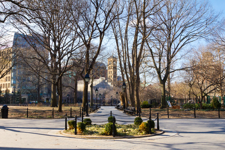 greenwich: New York City - Washington Square Park in Manhattan