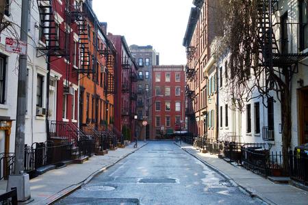 뉴욕시의 역사적인 건물 스톡 콘텐츠