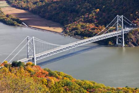 Bridge over the Hudson River in New York