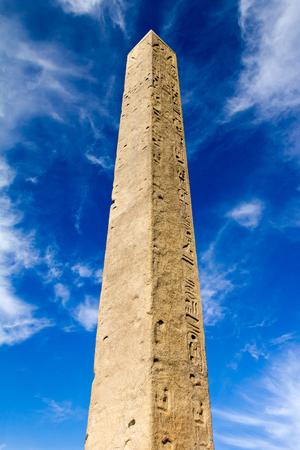 monolith: Egyptian Monolith Obelisk in Central Park, New York City