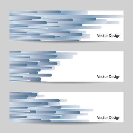 header: Website header or banner set with blue striped design.