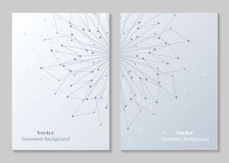 Modern brochure cover design