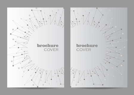 Brochure template layout design.