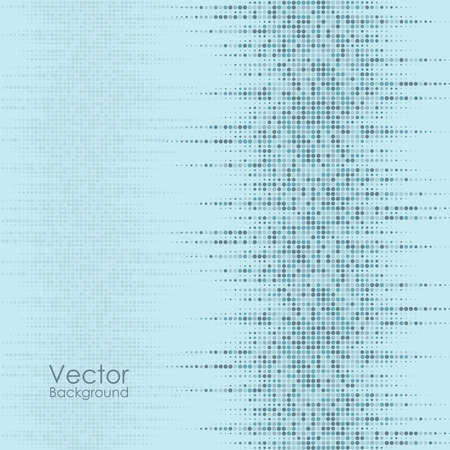 Vector abstract background with the blue dots