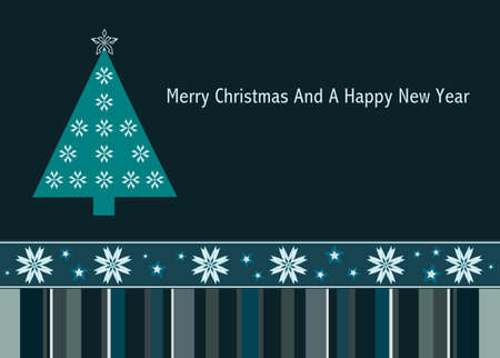 Merry Christmas and a Happy New Year Stock Vector - 10063516