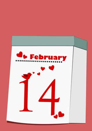 february 14: 14th February - Happy Valentine