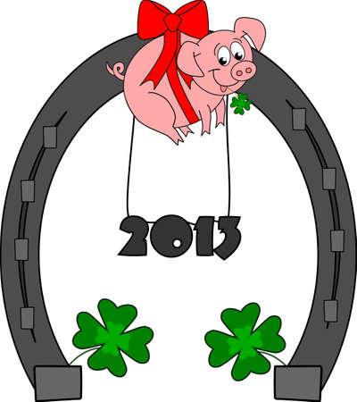 Happy New Year - 2013 Stock Photo - 13307471