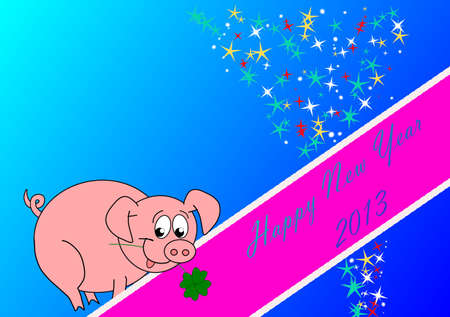 talismán: Feliz Año Nuevo - 2013